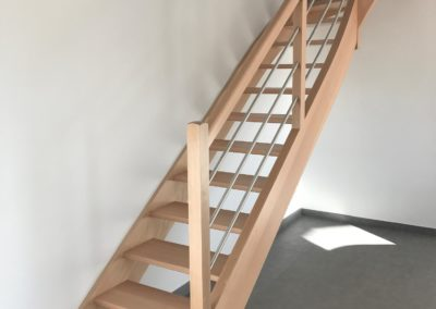 Escalier clair alu