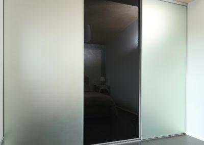 Placards - façades vitrées et pleines