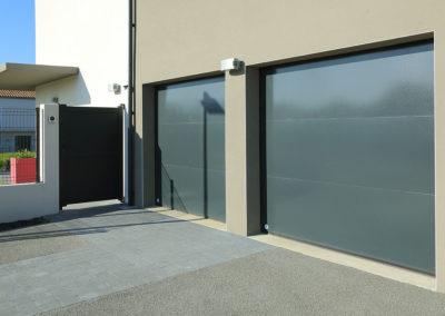 Portes garage sectionnelles