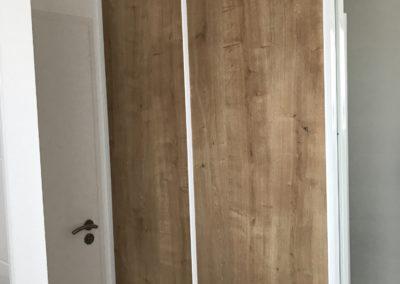 Portes placard bois