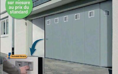 Portes de garage à ouverture latérale promotion novembre 2017