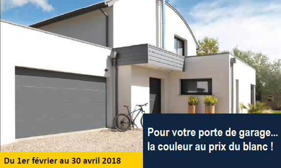 Portes de garage novoferm en couleur en promo au sables d for Porte de garage en promotion