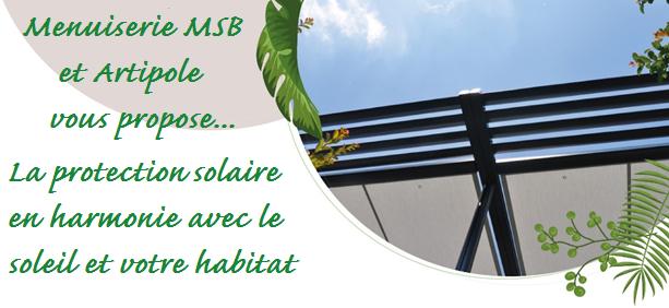 Protections solaires pour vos terrasses