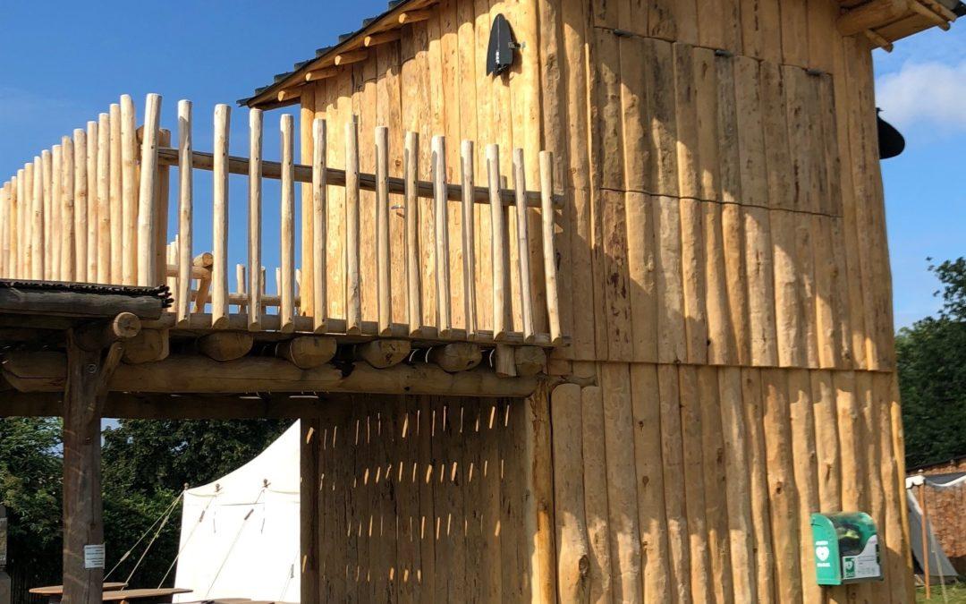 Chateau de Talmont St Hilaire : construction ossature bois