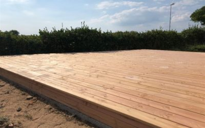 Terrasse bois aux Sables d'Olonne