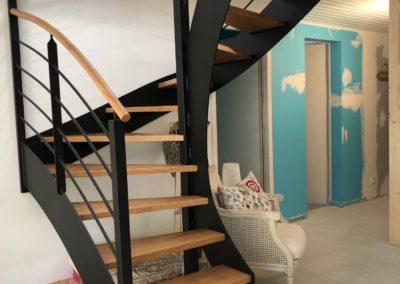 Escalier bois-métal à St Foy (85)