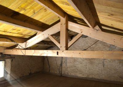 Rénovation de charpente en Vendée par Menuiserie MSB