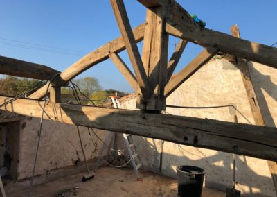 charpente à rénover en Vendée