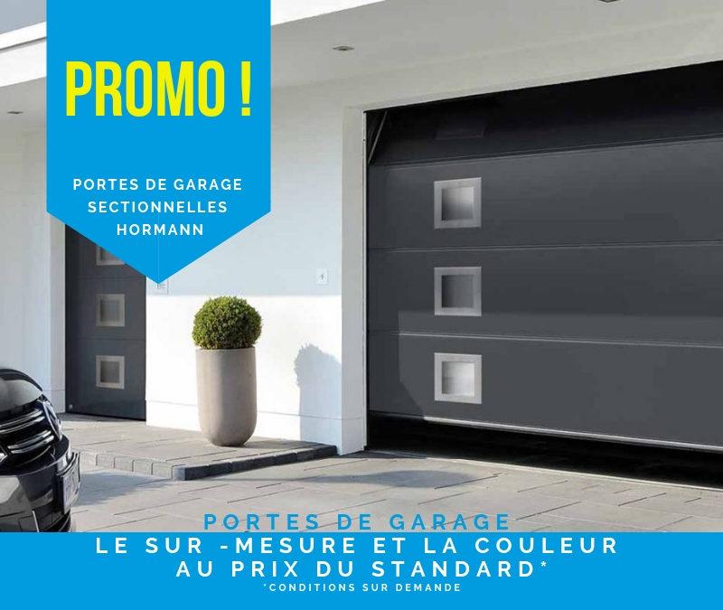 Portes de garage sectionnelles : Promotions 2019