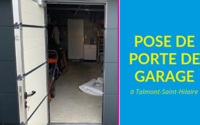 Porte de garage à Talmont St Hilaire
