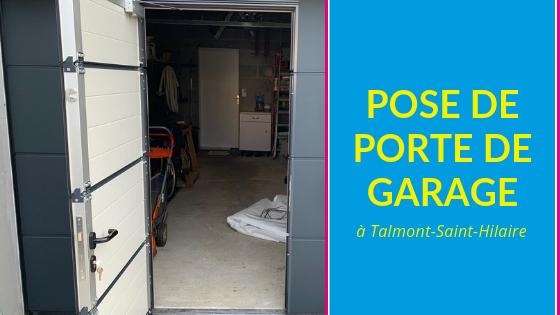 Porte de garage Talmont St Hilaire