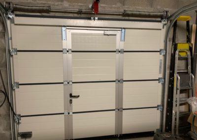 Porte garage Talmont St Hilaire vue intérieure