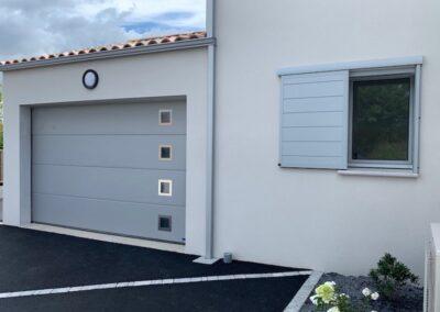 porte de garage acier en vendée